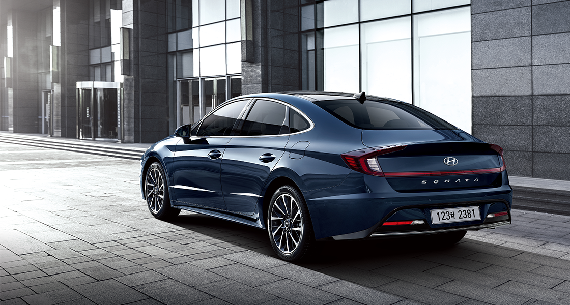 Sonata Inpiration Full Option (Oxford Blue)